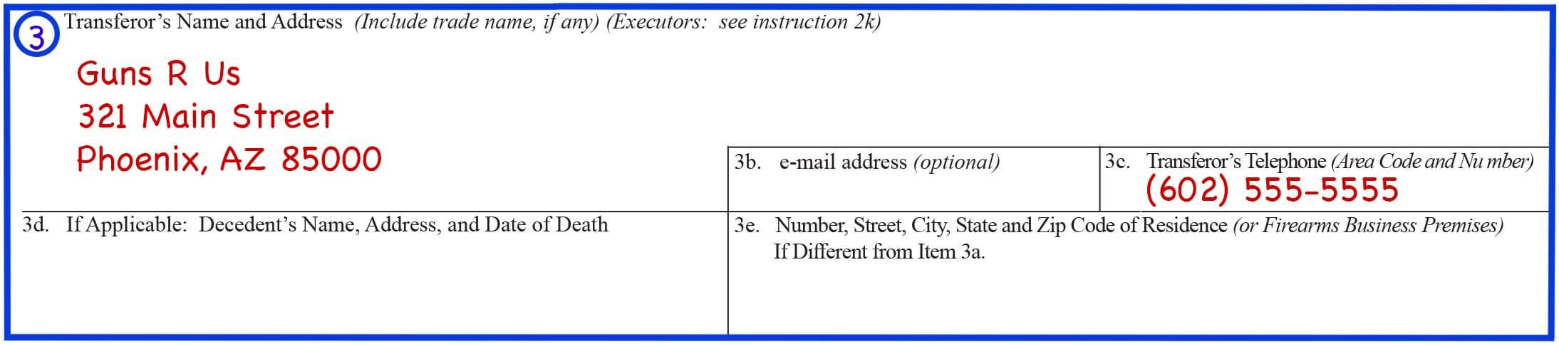 Form 4 Box 3