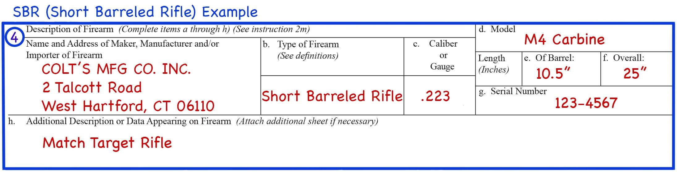Form 4 Box 4 SBR