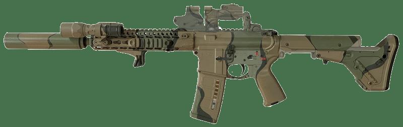 sbr machine gun