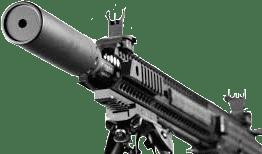 bi-pod gun