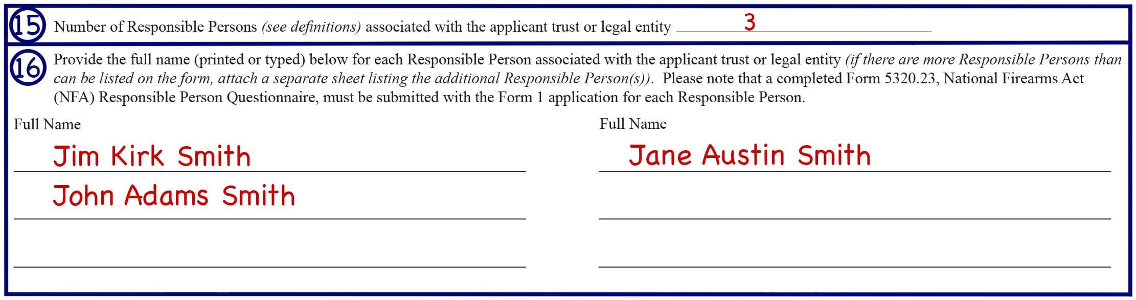 Form 1 Box 15-16