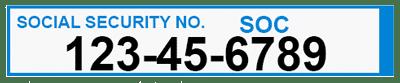 FD-258 SSN