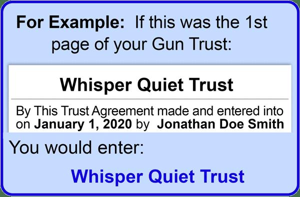 Trust-Name
