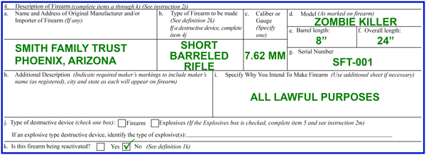 box 4 of the atf form 1